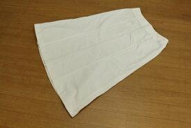 [即決] クリッツィア KRIZIA 42サイズ スカート ロング Aライン ホワイトデニム きれいめ 上品 カジュアル レディース 服 ホワイト ブランド古着 【中古】