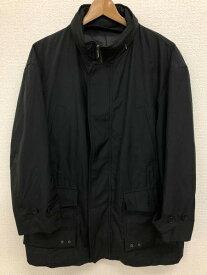 五大陸 gotairiku 4サイズ 無地 ジャケット メンズ ジップアップ ハイネック ブラック ブランド古着 【中古】