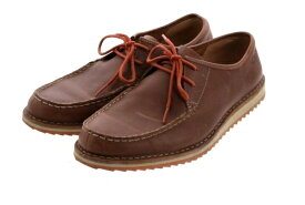 クラークス Clarks カジュアルシューズ レザー メンズ 靴 ブラウン レザー メンズ靴 ブランド 【中古】【良品】