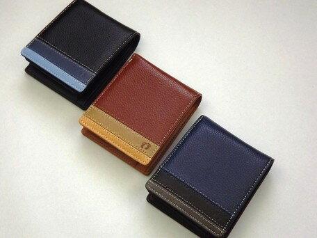 二つ折り財布 メンズ 小物 HANG TEN ハンテン 中ベラ付 二つ折り 財布 ウォレット 札入れ 小銭入れ コインケース ※fu