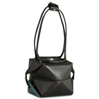 ハナアフHanaa-fuキューブバッグトートバッグミニバッグ変形A4収納アリエスAriesSMALLバッグ鞄カバン折紙黒