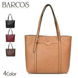 BARCOS 3層ポケット2WAYレザートート レディース 全4色 ONESIZE バルコス