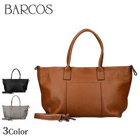 BARCOS 2wayレザービッグトート レディース 全3色 ONESIZE バルコス