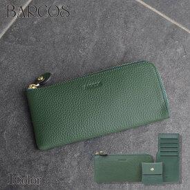 BARCOS GLウォレット L型財布<チルコロL> レディース 全1色 ONESIZE バルコス GLW 緑の財布 長財布 レディース 本革 贈り物 プレゼント
