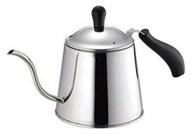 コーヒーポット ステンレス製 ドリップポット 1.1L IH対応 オンリーワン・ステージ HB-2349 ケトル パール金属 ドリップコーヒー