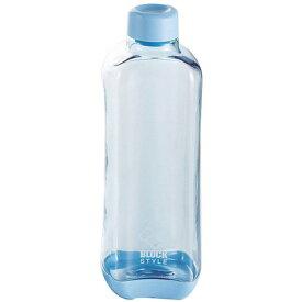 水筒 スポーツボトル 1L 限定数量特価 PCアクアボトル1000ml (ブルー) ブロックスタイル H-6038 ウォーターボトル おしゃれ パール金属 新生活