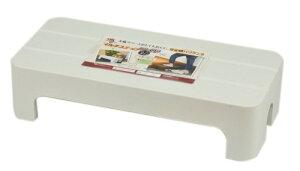 踏み台 マルチステップワイド ロータイプ クールグレー HB-3072 脚台 玄関 おしゃれ 同梱不可 パール金属