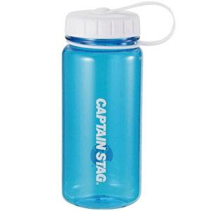 水筒 ウォーターボトル 550ml ライス目盛り付 ブルー UE-3386 キャプテンスタッグ クリアボトル 保存容器 米 3.5合 キャンプ