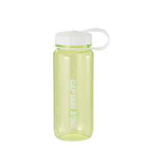 水筒 ウォーターボトル 650ml ライス目盛り付 グリーン UE-3392 キャプテンスタッグ クリアボトル 保存容器 米 4.5合 キャンプ