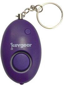 防犯アラーム key gear セーフティアラーム YF-970 キーギア ライト付 キーホルダー アウトドア