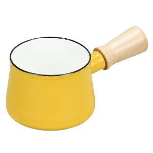 プチっと ホーローミルクパン 10cm イエロー HB-5066 パール金属 片手鍋 ミニ