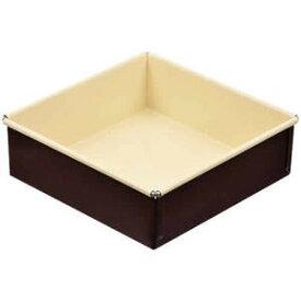 ラフィネ スクエアケーキ焼型 15cm ふっ素加工 D-6120 限定数量特価 スクエア型 正方形 製菓 お菓子作り パール金属 買い回り 買いまわり