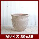 テラアスタ ベーガ M13号  ≪植木鉢/テラコッタ鉢/大型プランター/アンティーク調≫