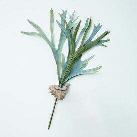 【造花】【フェイクグリーン】 ビカクシダ ブランチ 73 【インテリア 観葉植物 人工植物 おしゃれ アーティフィシャルフラワー 枝】