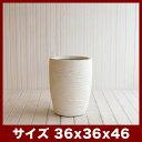 ファイバークレイプロ 23 サン・ミドル リッジ 36 ≪大型植木鉢/陶器・テラコッタより軽量なセメントプランター≫