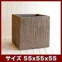 ファイバークレイプロ 02 ベータ スクラッチ 55 ≪大型植木鉢/陶器・テラコッタより軽量なセメントプランター/セール対象2≫