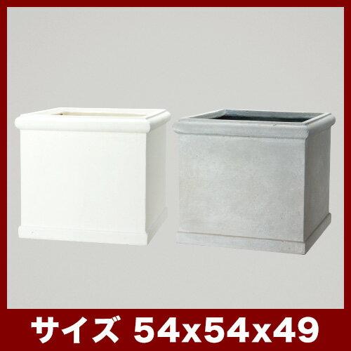 ファイバークレイプロ 16 ベータ ヘビーリム54 ≪大型植木鉢/陶器・テラコッタより軽量なセメントプランター≫