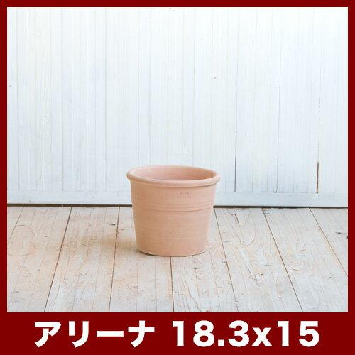 シリンドロ アリーナ 6号  ≪植木鉢/イタリアンテラコッタ鉢/素焼き鉢/イタリア≫