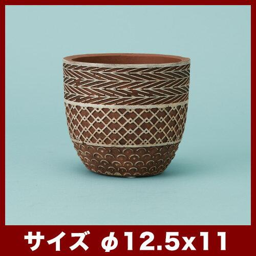 【植木鉢】サルメ 12【植木鉢 おしゃれ 鉢カバー ガーデン雑貨 かわいい インテリア】