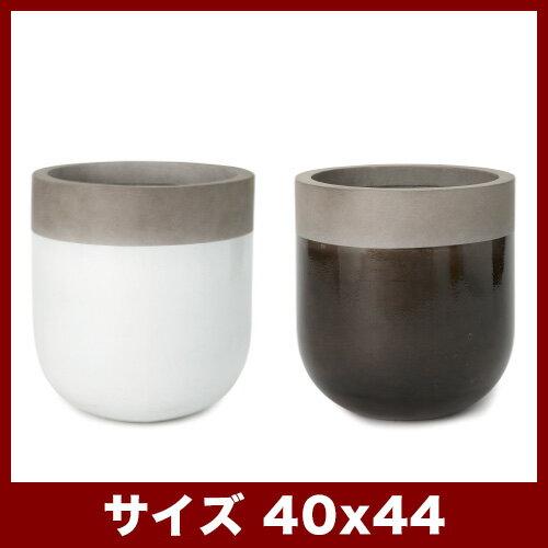 ファイバーストーン バルゴ 40  ≪おしゃれな植木鉢/鉢カバー/ファイバーセメントプランター≫