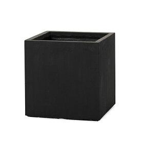 【植木鉢】【大型】ファイバークレイプロ 02 ベータ キューブ 28【植木鉢 大型 プランター おしゃれな植木鉢 鉢 軽量 セメント】