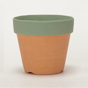 ペイントポット 3.5号 ≪植木鉢/ガーデン雑貨/素焼き鉢/カラーミニポット/おしゃれ/かわいい≫
