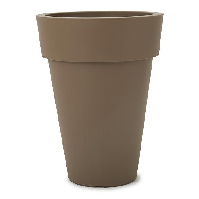 アクシア プラスト TL 60 ブラウン≪植木鉢/鉢カバー/樹脂プランター/軽量/セール対象3≫
