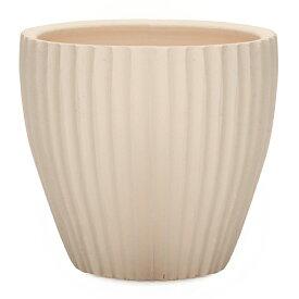 サフィ 36W Lサイズ  ≪植木鉢/陶器/白系テラコッタ/素焼き鉢≫