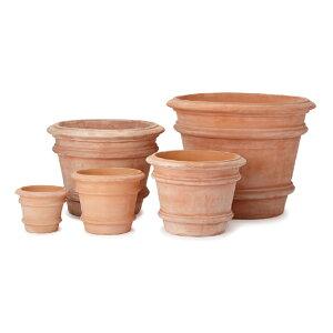 【西濃出荷】カルモー FR1 6点セット  ≪おしゃれな植木鉢/陶器/大型テラコッタ・素焼き鉢系≫