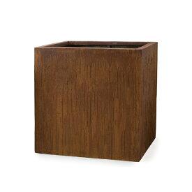 ヴァル キューブ 40 ≪大型鉢カバー/アンティーク加工・テラコッタより軽量なセメントプランター/セール対象3≫