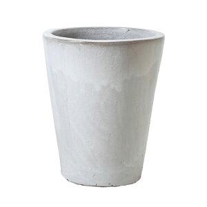 【B品アウトレット】ウーヌス コニック 15号  ≪おしゃれな植木鉢/陶器鉢/英国風/セール対象BS≫