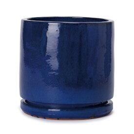 ヴィトロ エンデカ 10号 受け皿付き  ≪おしゃれな植木鉢/陶器鉢/高温焼成≫