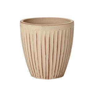 ウィトン 980 赤土(白土焼付) Sサイズ  ≪植木鉢/おしゃれ/アンティーク/ラフ/陶器/テラコッタ/素焼き鉢≫