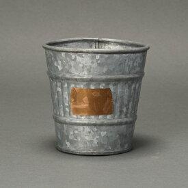 アゴスト11 ≪植木鉢/ガーデン雑貨/ブリキ/おしゃれ/かわいい/ジャンクテイスト/インド製/インテリア/セール対象F≫