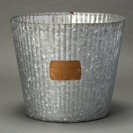 ベッテガ 18 ≪植木鉢/ガーデン雑貨/ブリキ/おしゃれ/かわいい/ジャンクテイスト/インド製/インテリア≫
