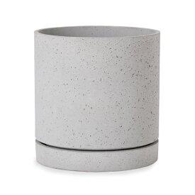 ライマ シリンダー 12号 ≪植木鉢/大型/軽量/おしゃれ/受け皿付き≫