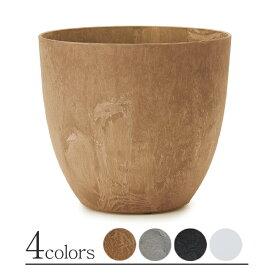 アートストーン ラウンド L ≪植木鉢/大型/軽量/おしゃれ/プラスチック≫