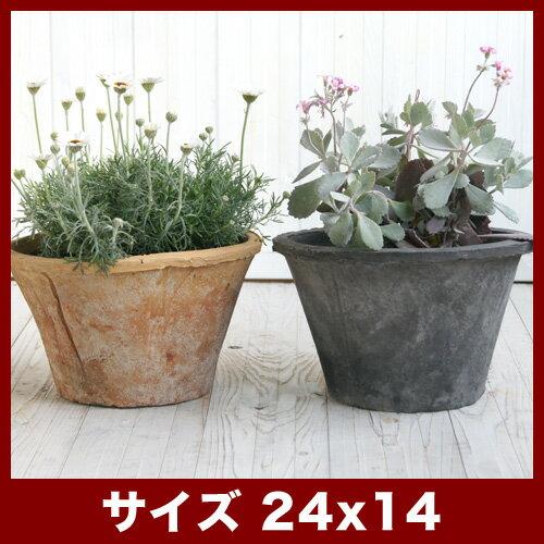 【植木鉢】【素焼き鉢】モスポット 100LL 8号【植木鉢 おしゃれな植木鉢 鉢 テラコッタ 素焼き鉢 陶器鉢】