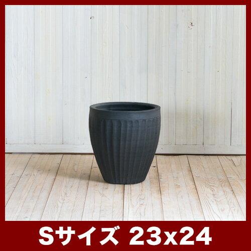 タンカ ストライプ S8号  ≪植木鉢/陶器/テラコッタ・素焼き鉢より堅牢≫
