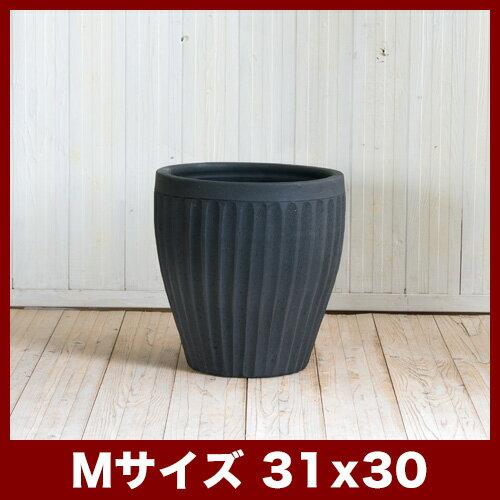 タンカ ストライプ M10号  ≪植木鉢/陶器/テラコッタ・素焼き鉢より堅牢≫