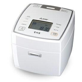 三菱 NJ-VV109-W IHジャー炊飯器(5.5合炊き) 備長炭 炭炊釜