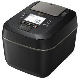 HITACHI 日立 RZ-W100DM-K 5.5合 圧力&スチーム ふっくら御膳 IHジャー炊飯器