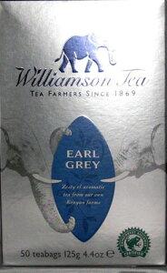ウィリアムソン紅茶 アールグレイ50ティーバッグ