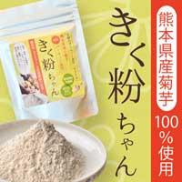 菊芋粉末 100g 熊本県産 栽培期間中農薬不使用 腸内フローラ 有胞子菌を含む善玉菌 シンバイオティクス食品