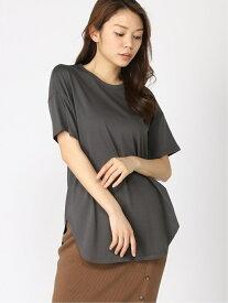 [Rakuten Fashion]ラウンドヘムTシャツ BARNYARDSTORM バンヤードストーム カットソー Tシャツ グレー ベージュ ホワイト【送料無料】