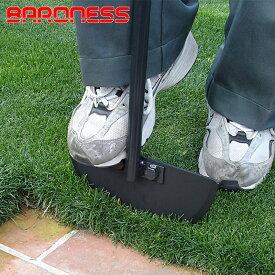 バロネス ターフカッター エッジ切り 根切り スライシング 芝生のお手入れ 日本製 共栄社 BARONESS/あす楽対応/