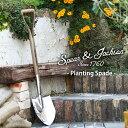 英国ブランド Spear&Jackson トラディショナル ステンレス 剣スコップ 丸形