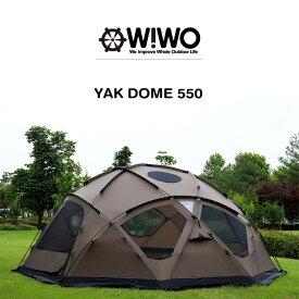 【正規販売】 WIWO ウィーオ YAKDOME550 Coyote ヤクドーム550 コヨーテ テント