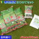 寒地型芝はじめてセット 20平米(6坪)分 (芝生の種 ダイヤモンドグリーン、目土・床土 3袋、芝生の肥料 700g) 初心者…
