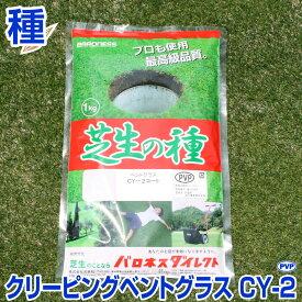 【期間限定セール】超高級芝生ニュークリーピングベントグラス 新品種CY−2(シーワイツー) 1kg お庭の広さ15〜24坪用 バロネス寒地型 芝生の種 多年草 発芽適温摂氏15〜25度程度です。 CY-2/あす楽対応/共栄社/【店頭受取対応商品】
